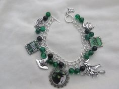 Wicked The Musical Charms Bracelet by CreationsByDebs on Etsy