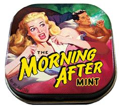 Morning After Mints Breath Mint Candy Gag Gifts Decorated Tin Box Quirky Gifts, Cool Gifts, Sugar Free Mints, After Dinner Mints, Fab Life, Mint Candy, Monologues, Hilarious, Funny