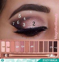 Naked 3 tutorial beautiful pink eyeshadow creates a simple yet elegant make up - Tolle augen - Eye Makeup Makeup Goals, Makeup Inspo, Makeup Inspiration, Makeup Tips, Makeup Ideas, Makeup Tutorials, Makeup Designs, How To Makeup, Eye Makeup Steps