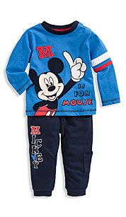 Baby-outfit in blauw / lichtblauw