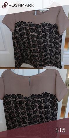 Spotted while shopping on Poshmark: Loft short sleeve blouse.! #poshmark #fashion #shopping #style #Loft Fashion #Tops