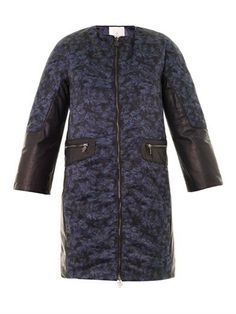 Boom failette-print down coat | Moncler M | MATCHESFASHION.COM