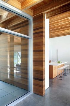 Wooden bungalow prefab house - 50 highly modern wood and log homes