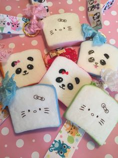A personal favorite from my Etsy shop https://www.etsy.com/ca/listing/280289024/panada-cat-squishy-cute-kawaii-toast