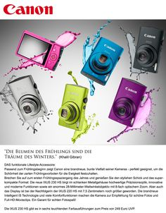 picture me ... CANON liebt Farbe im Sommer 2012