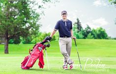 I have been super fortunate to have amazing seniors to photograph.especially amazing Senior boys! I love photographing Senior girls as t. Golf Senior Pictures, Senior Photos, Senior Portraits, Male Portraits, Portrait Poses, Senior Boy Poses, Senior Guys, Senior Year, Golf Outfit