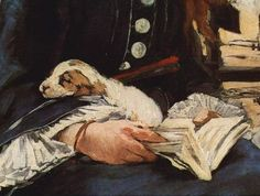 It's About Time: Dog Days of Summer - Eouard Manet 1832-1883