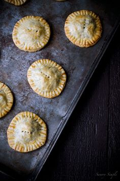 These Savory Meat and Mushroom Hand Pies