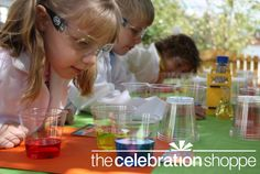 Science parties for children is a great tool for them to learn, experiment, explore and to become great problem solvers. - Julie Jones