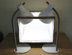 How to make a light box to take great product photographs