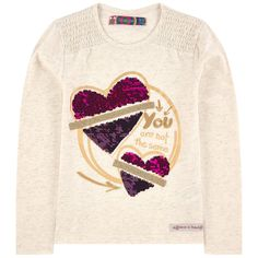 Desigual T-shirts : Children T-shirts New T Shirt Design, Shirt Print Design, Girls Sportswear, Kids Girls Tops, Painted Denim Jacket, Kids Pajamas, Kids Wear, Shirts For Girls, Printed Shirts