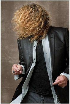 Robert Plant in American Way Magazine. Photo: Stephen Humphries....
