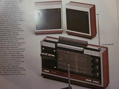 1972 in fact the first ghetto blaster Turntable, Facts, Record Player