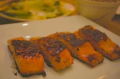 miso ginger glazed salmon so healthy miso and ginger glazed salmon 140 ...