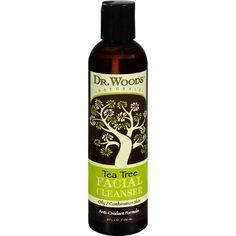 Dr. Woods Facial Cleanser Tea Tree 8 Oz