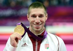 Krisztián Berki - Gymnastics   Men's Pommel Horse  Gold Medalist  http://www.budpocketguide.com