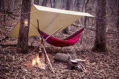 Hammock Camping #campvibes
