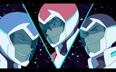 Lance, Keith and Shiro - 2x04