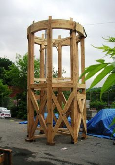 Cypress Timber Frame Tower
