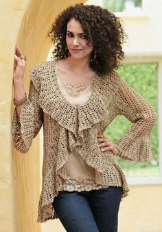 Shown for inspiration - no pattern available at MyPicot Club. Would love to make this if I can find the pattern.