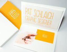 Pat Schlaich's Resume. 20 Innovative Resume Examples #resume #design #identity #inspiration