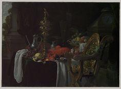 Still Life: A Banqueting Scene, 1670s Jan Davidsz de Heem (Dutch, 1606–1683/84) Oil on canvas