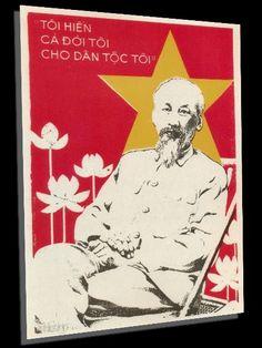 Vietnam Propaganda Posters - http://retrographik.com/product/vietnam-propaganda-posters/ - communist, Ho Chi Minh, posters, propaganda, Vietnam, war