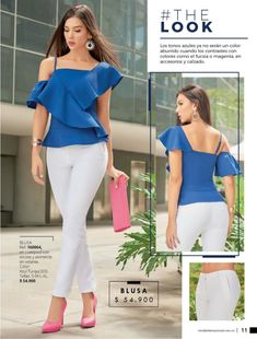 Blue Fashion, Look Fashion, Womens Fashion, Indian Fashion Trends, African Fashion, Classy Outfits, Beautiful Outfits, Urban Chic, Stylish Dresses