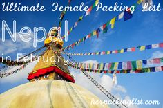 Looking for the ultimate Nepal packing list for February? Look no further! Flora Baker shares her wisdom about the land that is freezing in the winter in this guest packing list post.