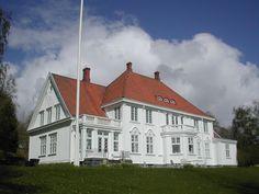 Eggelia, Eggevegen 40, 7715 Steinkjer, Norway - Bolig for fylkesmannen i Nord-Trøndelag 1919-1986.
