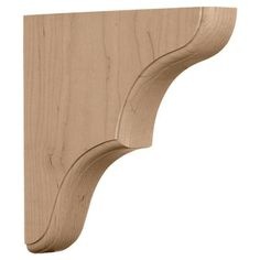 Wood Bracket Support Corbel for Shelf Made in Pine | eBay   To remember where to find these