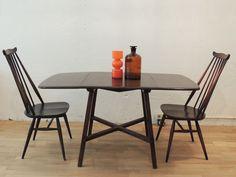 Mesa Ercol años 60 - The Nave - midcentury - wood - woodwork - madera - furniture - mobiliario - thenave - estilo - mesa - decoracion - table - ercol - escandinavo - danes - ingles - nordico
