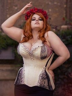 7667c419e9 Crikey Aphrodite specializes in fitting overbusts for large busts. Lucy  Corsetry