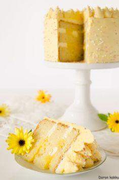 Vanilla Cake, Dairy, Cheese, Desserts, Food, Tailgate Desserts, Deserts, Eten, Postres