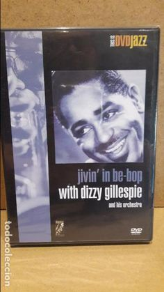 DVD/JAZZ - JIVIN' IN BE BOP WITH DIZZY GILLESPIE AND HIS ORCHESTRA. / DVD - PRECINTADO.