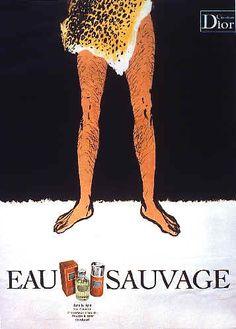 gruau for dior parfums. 1966