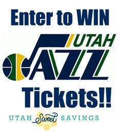 92d9d11bf25 another wonderful giveaway from Utah Sweet Savings!!! Game Tickets