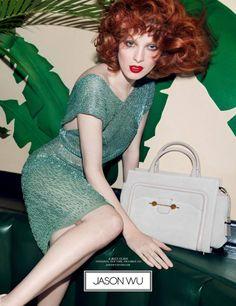 #sparkly #dress featured in #JasonWu ad