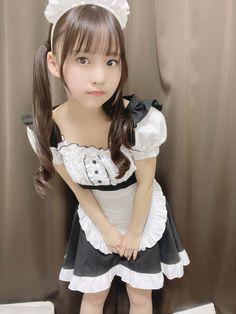 Young Japanese Girls, Cute Japanese Girl, Maid Cosplay, Cute Cosplay, Beautiful Little Girls, Beautiful Asian Girls, Cute Asian Girls, Cute Girls, Really Skinny Girls