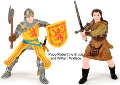 Robert the Bruce and William Wallace figures - Comaco Toys - The Blog | Thoughts from a Toy Shop in Drumnadrochit