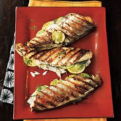 Grilled Trout | MyRecipes.com #myplate #protein