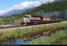 RailPictures.Net Photo: CP 3084 Canadian Pacific Railway EMD GP38-2 at Harrogate, British Columbia, Canada by Mike Danneman