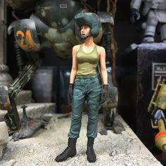 Ma.k 1/20 Mercenary Army Female Test Pilot (Brick Works)