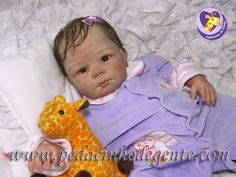 Reborn Doll Bruna 2 by Pedacinho de Gente