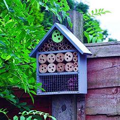 Natures Market Kingfisher Insect Hotel Transparent 9 x x cm 1 . Bug Hotel, Insect Hotel, Shelter, Bee House, Nesting Boxes, Kingfisher, Bird, Ebay, Outdoor Decor