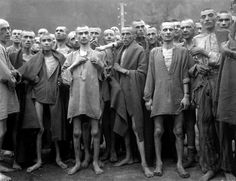 World War 2 Nazi Holocaust | Holocaust survivors liberated from the Mauthausen camp, Austria, by ...