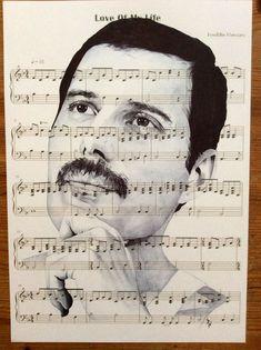 love of my life by Freddie Mercury Freddie Mercury Quotes, Queen Freddie Mercury, Queen Band, Heavy Metal, Queen Photos, Queen Pictures, We Will Rock You, John Deacon, Killer Queen