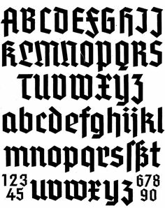What Fraktur? Please help! | Typophile