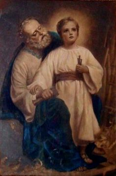 """Saint Joseph, who felt the tribulation and worry of a parent when the child Jesus was lost, protect our dear children for time and eternity. May you be their father and counselor.  Let them, like Jesus, grow in age as well as in wisdom and grace before God and men. Preserve them from the corruption of this world, and give us the grace one day to be united with them in heaven forever."" – Amen."