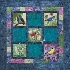 """""""Evening Song"""" Pattern by McKenna Ryan.  Can't wait to get started - fabric picked out and ready :)"""